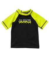 Quiksilver Infant Boys' Extra Extra S/S Rashguard (6-24mos)