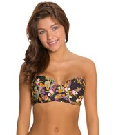Quintsoul Romantic Moments Lace Back Underwire Bustier Bikini Top
