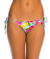 Quintsoul Summer Bloom Tie Side Bikini Bottom