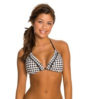 Quintsoul Check Me Triangle Bikini Top