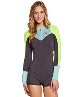 Roxy Women's 2MM XY Long Sleeve Front Zip Spring Suit Wetsuit