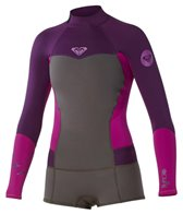 Roxy Women's 2MM Syncro Long Sleeve Bootie Cut Spring Suit Wetsuit