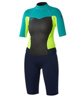 Roxy Women's 2MM Syncro Short Sleeve Back Zip Spring Suit Wetsuit