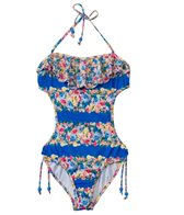 Seafolly Girls Abbey Road Cut Out Monokini (6yrs-14yrs)