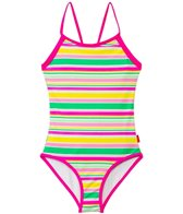 Seafolly Girls Holiday Loop Back One Piece (6yrs-16yrs)