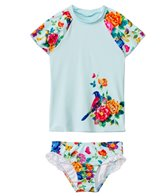 Seafolly Girls Baby Birdie Flutter Rashguard Set (6mos-7yrs)