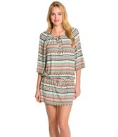 Kenneth Cole Reaction Boho Breeze Tie Neck Tunic