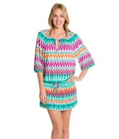 Kenneth Cole Reaction Beachside Beauty Cover Up Tunic