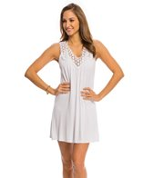 Kenneth Cole Reaction Solid Crochet Cover Up Dress
