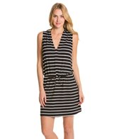 Kenneth Cole Reaction Skyline Stripe Hoodie Dress