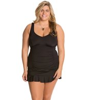 kenneth-cole-reaction-plus-size-ruffle-licious-sweetheart-neck-swimdress