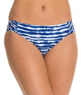 Kenneth Cole Electric Stripe Sash Tab Bikini Bottom