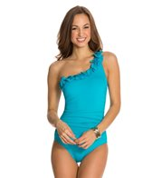 Kenneth Cole Sassyfras One Shoulder One Piece Swimsuit