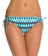 Kenneth Cole Ikat In The Act Tie Side Bikini Bottom