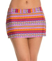 Kenneth Cole Globetrotter Straight Swim Skirt