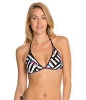 Kenneth Cole Scarf City Reversible Triangle Bikini Top
