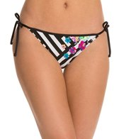 Kenneth Cole Scarf City Reversible Tie Side Bikini Bottom