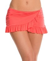 Kenneth Cole Reaction Ruffle-Licious Asymmetrical Swim Skirt