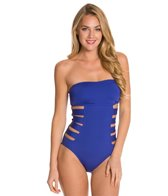 Kenneth Cole Reaction Ruffle-Licious Banded One Piece Swimsuit