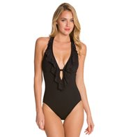 Kenneth Cole Reaction Ruffle-Licious Ruffle One Piece