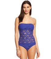 Kenneth Cole Reaction Island Fever Bandeau One Piece Swimsuit