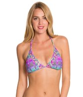 Kenneth Cole Reaction The Zig To My Zag Triangle Bikini Top
