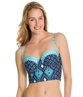Kenneth Cole Reaction Coastal Escapade Underwire Bustier Bikini Top