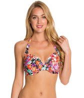 Kenneth Cole Reaction Darling Ditsy D-Cup Underwire Bikini Top