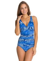Jantzen Luminous Palm CD Cup One Piece Swimsuit