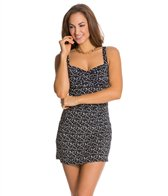 Jantzen Spellbound Dot The Skater Swimdress