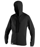 O'Neill Men's 0.5MM/6oz Supertech Hooded Front Zip Wetsuit Jacket