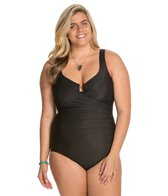 Miraclesuit  Plus Size Solid Escape One Piece Swimsuit