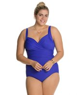 Miraclesuit Plus Size Solid Sanibel One Piece Swimsuit