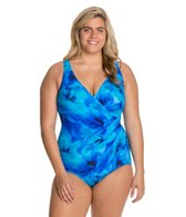 Miraclesuit Plus Size Ocean Dream One Piece Swimsuit