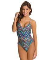 L-Space Antigua Black Wild Side One Piece Swimsuit