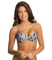 L-Space Swimwear Outlaw Strap Back Halter Bikini Top