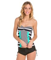 Hobie Surfin' Stripe Tankini Top
