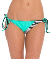 Hobie Sufin' Stripe Tie Side Bikini Bottom
