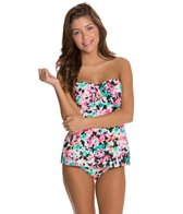 Hobie In Bloom Twist Bandeaukini Bikini Top
