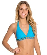 Hobie All Hands on Deco Halter Bikini Top