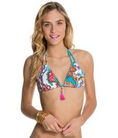 Hobie Perfect Paisley Triangle Bikini Top