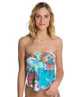 Hobie Perfect Paisley Scarf Bandeaukini Bikini Top