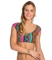 Hobie Tribal Treasure Crop Bikini Top
