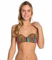 Hobie Tribal Treasure Push Up Underwire Bikini Top