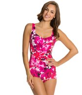 Maxine Cherry Blossom Girl Leg One Piece Swimsuit