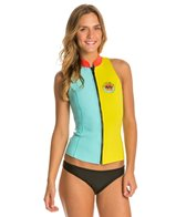 Billabong Women's 2MM Salty Dayz Front Zip Wetsuit Vest
