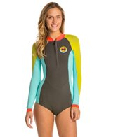 Billabong Women's 2MM Salty Daze Front Zip Spring Suit