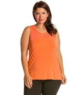Marika Alex Plus Size Illusion Yoga Tank