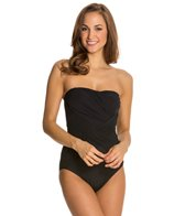 Gottex Lattice Bandeau One Piece