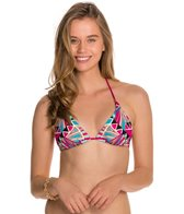 Body Glove Swimwear Carnival Oasis Triangle Slider Bikini Top